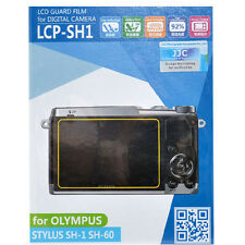 JJC LCP-SH1 hard polycarbonate LCD Guard Film Screen Protector Olympus SH1  SH60