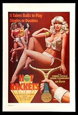 HOT RACKETS CineMasterpieces TENNIS PRO 1979 VINTAGE ADULT X RATED MOVIE POSTER