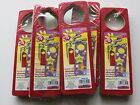 Lot of 5 new packs of foam door hangers - kids crafts