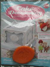 Deagostini Cake Decorating Magazine ISSUE 116 WITH FLOWER PANEL MOULD