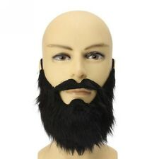 Beard Mustache Facial Hair Disguise Game Funny Mens Party Costume Accessory RI