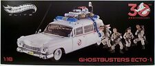 ECTO-1 Ghostbusters 30th Ann. Hot Wheels Elite Die Cast 1:18 Scale Vehicle 2015