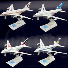 18CM Metal Plane Model Aircraft Boeing Diecast Airlines Aeroplane Scale Desk Toy