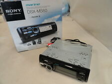 SONY DSX-MS60 FM/AM DIGITAL MEDIA PLAYER IPOD AND USB MARINE BOAT