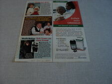 I206 MIREILLE MATHIEU HENRI SALVADOR DORIS DAY '2008 GERMAN CLIPPING
