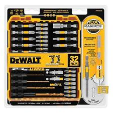 Dewalt Magnetic Bit Screwdriver Set Impact Drill Driver Bits Power Tool 32 Piece