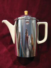 Vintage Art Deco Bauscher Weiden Bavaria Germany Ceramic Insulated Tea Pot Excl!