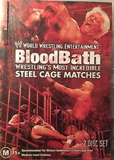 WWE Bloodbath Best of the Cage Matches 2-Disc Set Region 4 DVD G&VGC