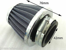 AF035 TALL METAL AIR FILTER 42MM FOR DIRT / PIT OR QUAD BIKES 110CC - 150CC