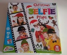 GRAFIX NEW CHRISTMAS SELFIE PROPS 40 CARDS CHILDREN'S TOY GIFT FUN PARTY GAMES