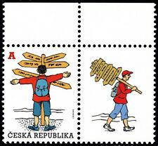 CZECH REPUBLIC 2012 sgl 1v set MNH @S4462