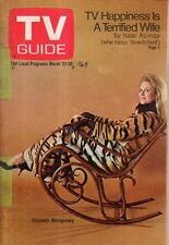 1969 TV Guide March 22 - Elizabeth Montgomery - Bewitched; Isaac Asimov; B Bain