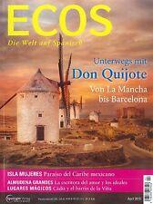 ECOS, Heft April 04/2015: Don Quijote - Spanisch-Magazin +++ wie neu +++