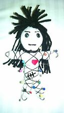 Authentic Mad Voodoo Doll real 7 pins guide new orleans Karma string doll hoodoo