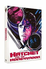 Mediabook HATCHET FOR THE HONEYMOON Mario Bava RED WEDDING NIGHT DVD + BLU-RAY A