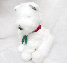 1997 COMMONWEALTH WESTIE TERRIER STUFFED PLUSH ANIMAL PUPPY DOG