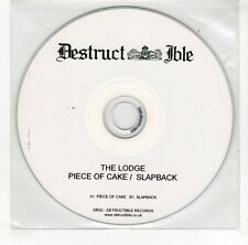 (GJ814) The Lodge, Piece Of Cake - DJ CD
