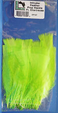 Intruder Feather Prop Hackle Hareline USA IFP127 FLUO CHARTREUSE