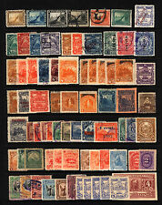 Nicaragua 1869-1937 M&U Collection, Overprints, Officials etc 75 items