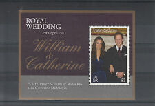 Tristan da Cunha 2011 MNH Royal Wedding 1v Sheet Prince William Kate Middleton