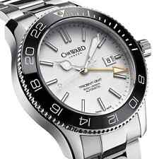 NIB Christopher Ward C60 GMT 600 Automatic Watch, 43 mm, Swiss Made (10+ Pic)