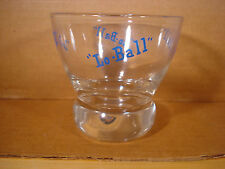 Lo Ball Eva Zeisel Retro Cocktail Glass 1960's Mid Century Modern Bar Game Room
