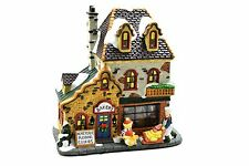 "Holiday Time Porcelain Victorian Village Building "" Bakery"" - EUC"