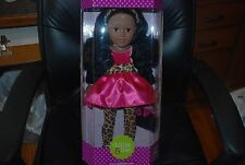Dollie & Me African American Leopard Print 18'' Doll by Madame Alexander NRFB
