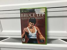 **Bruce Lee Quest of the Dragon - Original Xbox video game