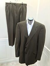 BURBERRY Burberrys 2pc Wool Suit Jacket size 46L and Pants size 42 x 31.5  WOW