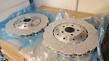 New Genuine Audi RS6 RS7 2013 on Front Brake Discs (Pair) 4G0615301E !!