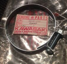 1969-1979 Kawasaki Air Inlet Pipe Clamp KD175 KE175 H1 F6 F7 KH500 92037-035 NOS