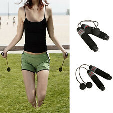 Wireless Indoor home Cordless Burning Calorie Jump Rope Skipping Fitness GYM FG