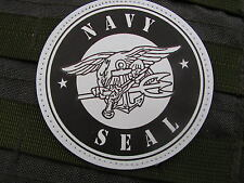 Patch Velcro PVC - US NAVY SEAL - marine palme COMMANDO socom USA airsoft SD6