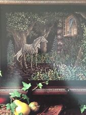 UNICORN Cross Stitch Pattern Chart ONLY L374 Dreamscape WHIMSICAL Look!
