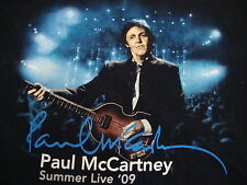 Paul McCartney Country Rock Music concert tour 2009 Dallas Texas T Shirt L
