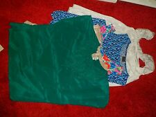 Used and new, bundle of five XL women tops, see details