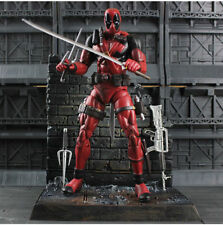 Marvel Select Deadpool Masked Action Figures Figurines Statue Model Diamond Toys