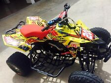 SUZUKI LTR 450 QUADRACER  SEMI CUSTOM GRAPHICS KIT TRANCE2