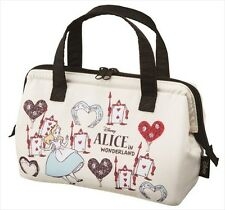 Alice in wonderland Disney Lunch bag Insulated Folding Tote Picnic Work Zip New