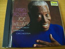 JOE WILLIAMS HERE'S TO LIFE  CD TELARC