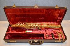 YAMAHA YSS-875 CUSTOM Bb SOPRANO SAXOPHONE - HIGH F# FRONT KEY - EXC. CONDITION