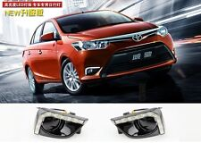 LED daytime running lights DRL with yellow turn singal for TOYOTA VIOS 2013~ON