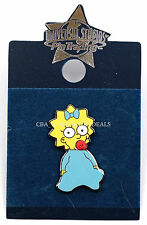 NEW Universal Studios Pin Trading - The Simpsons Maggie Pin