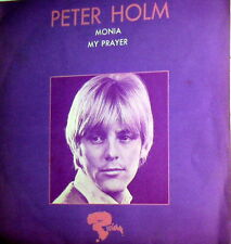 "PETER HOLM    MONIA    7"" DIFFERENT COVER MY PRAYER"