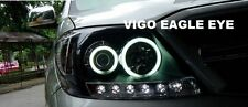 TOYOTA HILUX VIGO KUN MK6 SR5 05-11 FRONT HEADLIGHT PROJECTOR LAMP WITH LED BAR