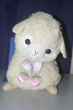 Arpakasso Alpacasso Baby Alpaca Beige Plush Doll Strawberry 14""