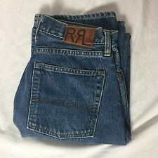 "Double RL RRL Sanforized Denim Bootcut Jeans 28""x32"" Made in Japan"