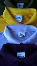 Lot (4) Lacoste Polo shirts size 5 (large)