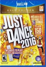 Just Dance 2016: Gold Edition (Nintendo Wii U, 2015)  *Factory Sealed*